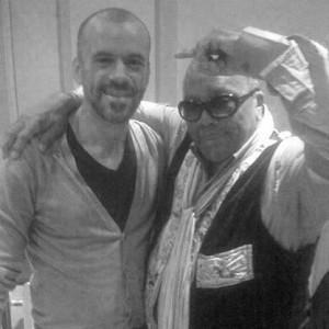 Matthias Kirsch with Quincy Jones