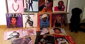 Melba Moore LPs