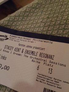 Stacey Kent Ticket