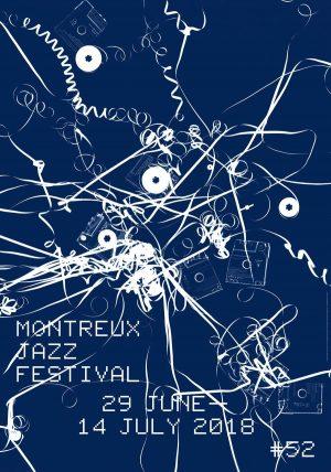 Montreux Jazz Festival 2018 Poster