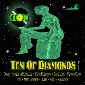 "GLOW ""Ten Of Diamonds"""